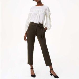 Pants - SLIM TIE WAIST CUSTOM STRETCH PANTS IN MARISA FIT